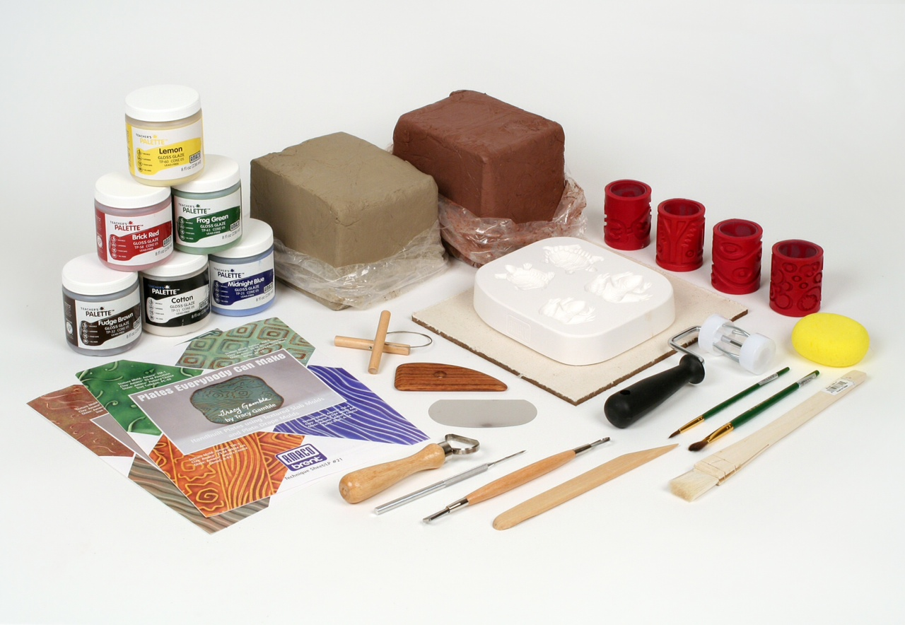 Clay, Tools & Glazes
